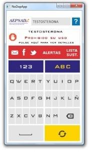 Aplicación NoDopApp